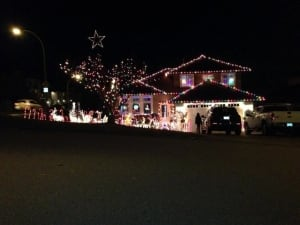 Tracy and Manuel's Castro home decorated for Christmas