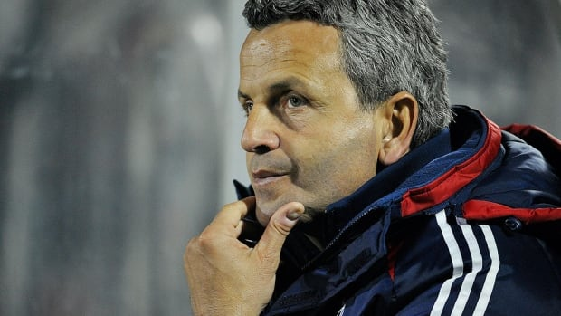 Former Chicago Fire coach Frank Klopas, pictured here, will replace Marco Schallibaum as Impact head coach and director of player personnel.