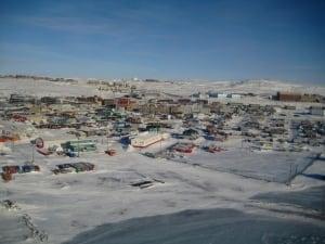 Wintertime Iqaluit