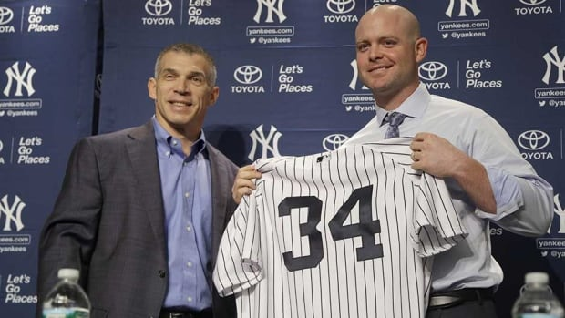 Brian McCann joined the New York Yankees this off-season on a five-year, $85-million US deal.