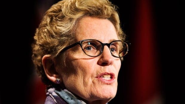 Ontario Premier Kathleen Wynne says the province will move ahead on pensions without Ottawa's help.