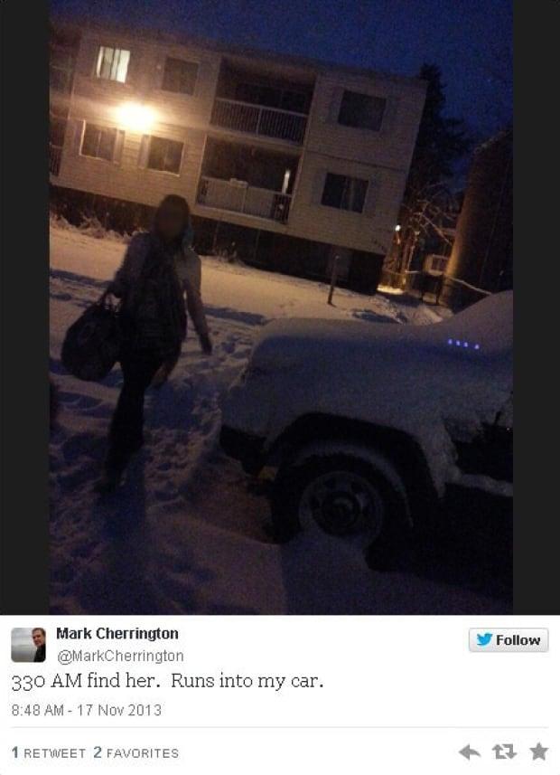 Mark Cherrington tweet