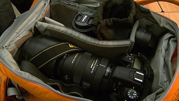 An example of the kind of goods the Winnipeg Police Pawn Unit has recovered this year: $5,000 worth of camera equipment.