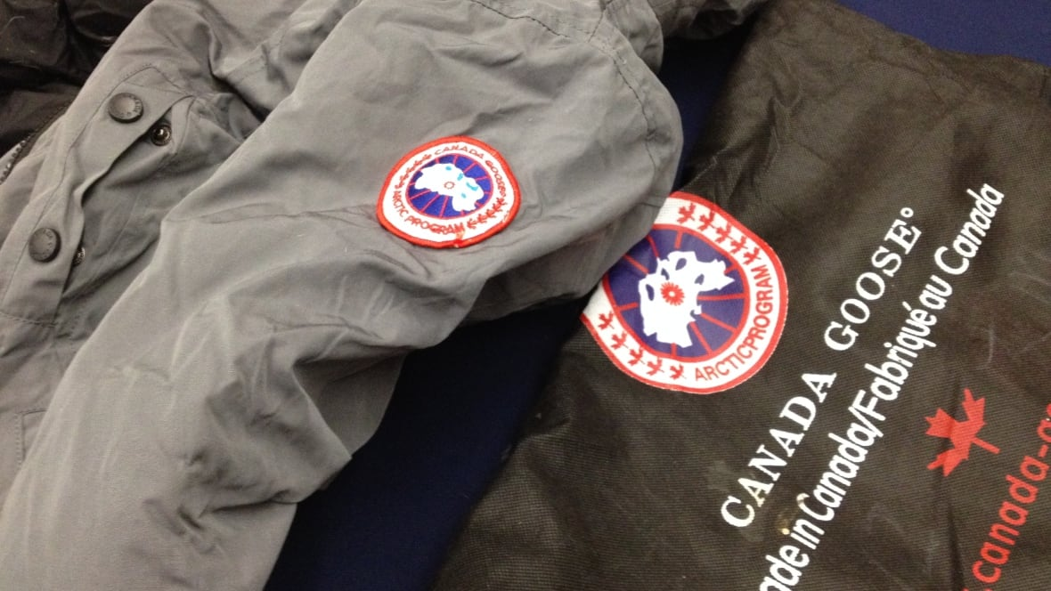 canada goose factory in china
