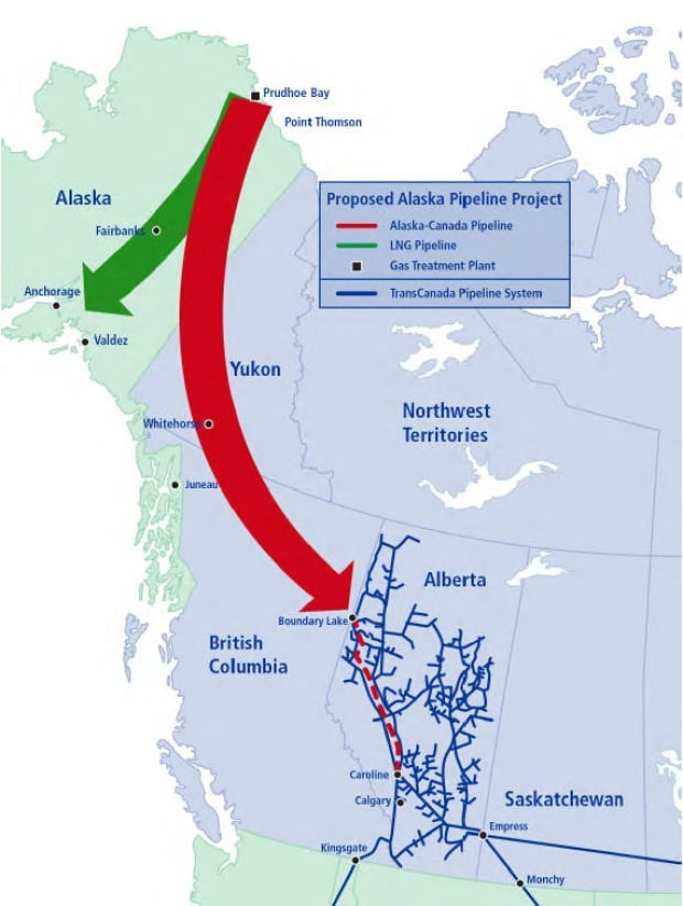 Proposed Alaska Pipeline Project