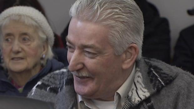 Leo Crockwell in a St. John's court room on Thursday.