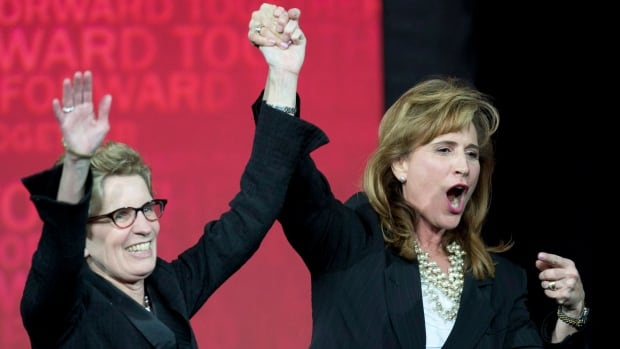 Sandra Pupatello, right, entered the Ontario Liberal leadership convention as the candidate to beat but Kathleen Wynne secured key endorsements on the convention floor, propelling her to the premier's chair.
