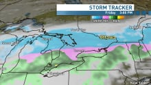Snow storm tracker Ian Black Thursday Dec. 19 20 Friday radar