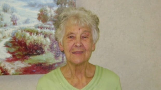Blanche Abbott's family is frustrated the 82-year-old woman has been sent to a long-term care facility 400 kilometres from family and friends.