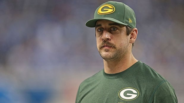 Aaron Rodgers has not yet received medical clearance to play after fracturing his left collarbone on Nov. 4.