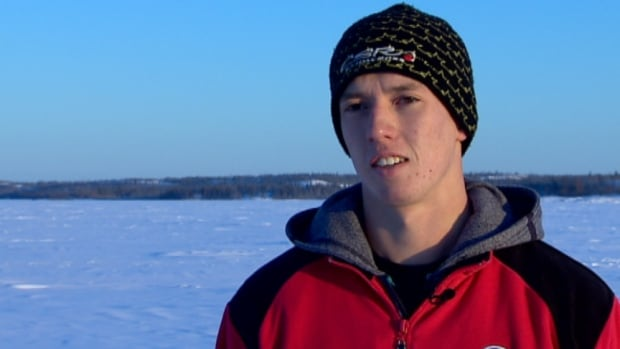 'I think it will be a good year this year,' says Yellowknife snowmobile racer Brandon Bradbury, who hopes to become Canada's snowcross champion.