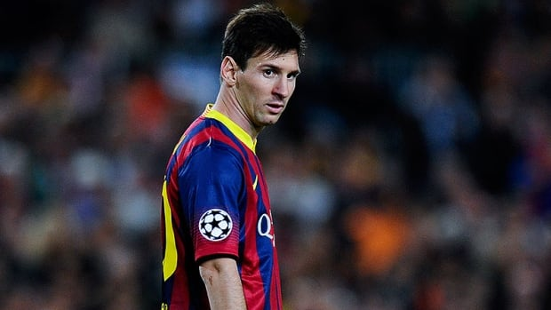 Barcelona FC forward Lionel Messi is at home in Argentina recovering from a hamstring tear he suffered on Nov. 29.