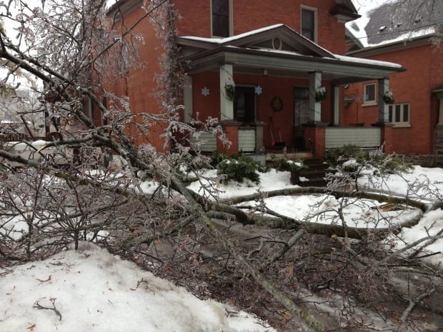 Ice storm Kitchener
