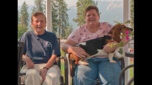 Linda Jean McNall and Shirley Vann