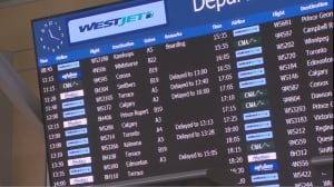 Delays Vancouver International Airport Dec. 22