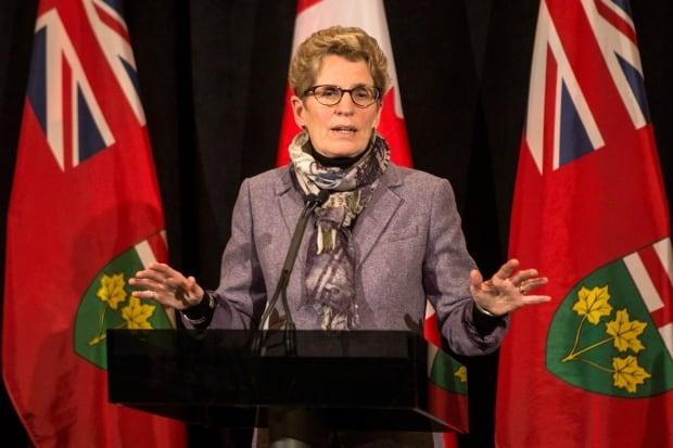 Premier Wynne talks about the ice storm