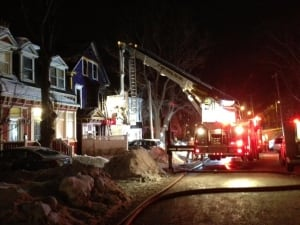 House fire on Patrick Street by Adam Walsh December 23 2013