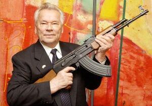 Russia Obit Kalashnikov