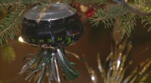 Pop can ornament