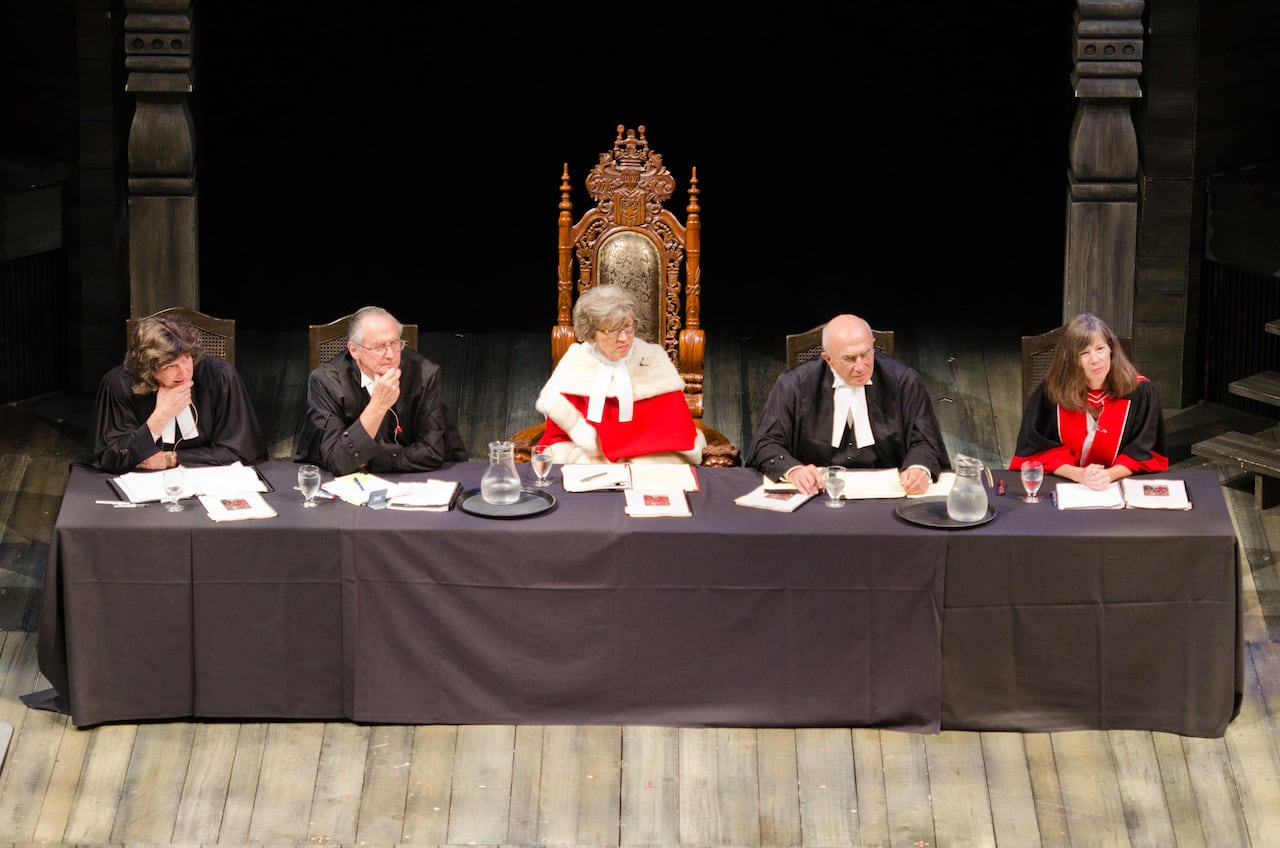Shakespeare in court: Shylock's appeal heard at Stratford