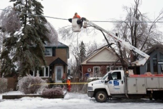 Restoring power in Toronto