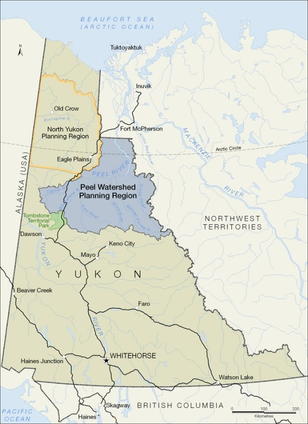 Peel watershed map