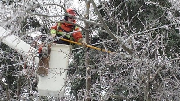 Power crews have been working around the clock to restore tens of thousands of people in New Brunswick and Nova Scotia.