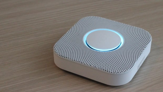 The Nest Protect is a combination smoke and carbon monoxide alarm with a futuristic look that comes in both wired and battery-powered models.