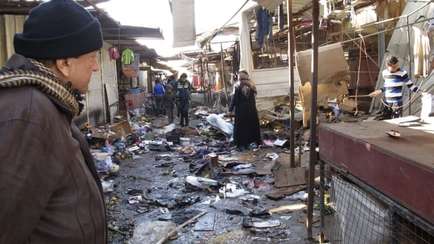 There was no immediate claim of responsibility for the attacks, but Iraq's dwindling Christian community, which is estimated to number about 400,000 to 600,000 people, has often been targeted by al-Qaeda and other insurgents.