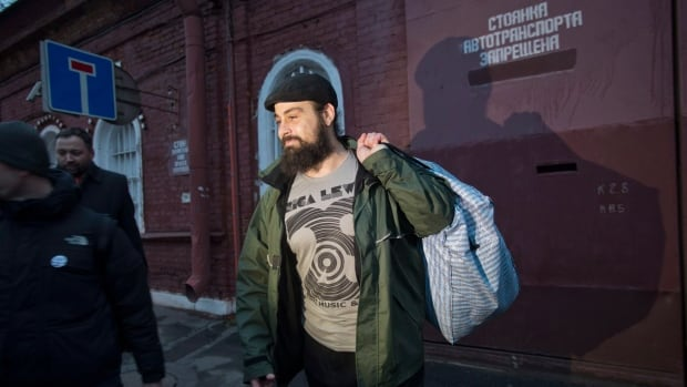 Greenpeace activist Alexandre Paul of Montreal was released from a St. Petersburg jail on Nov. 22, 2013 after being arrested Sept. 19 for protesting against drilling in the Arctic.