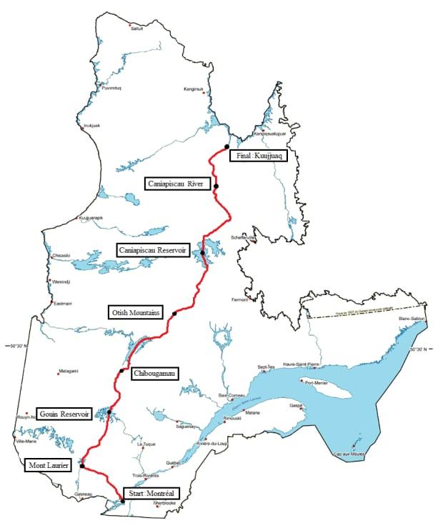 Karibu map