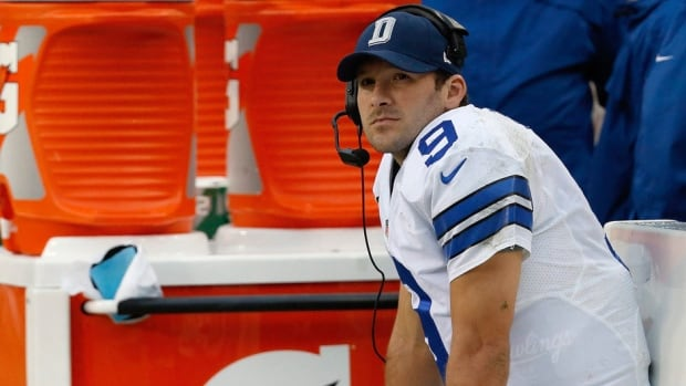 Dallas Cowboys quarterback Tony Romo had his season cut short after having back surgery.