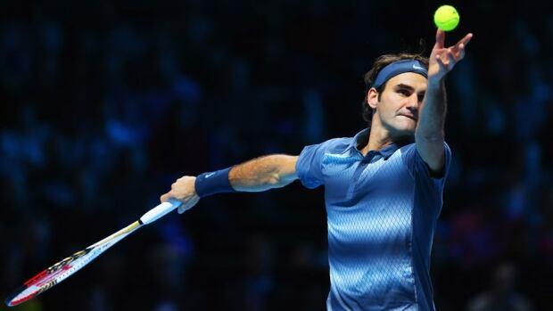 Swiss tennis star Roger Federer is a 17-time Grand Slam winner.