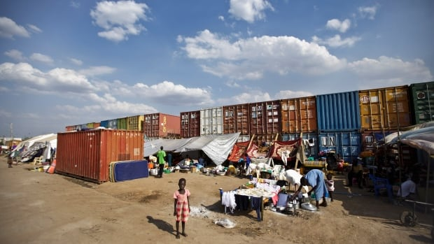 Some 25,000 people live in two hastily arranged camps for the internally displaced in Juba and nearly 40,000 are in camps elsewhere in the country, two weeks after violence broke out in the capital of South Sudan.