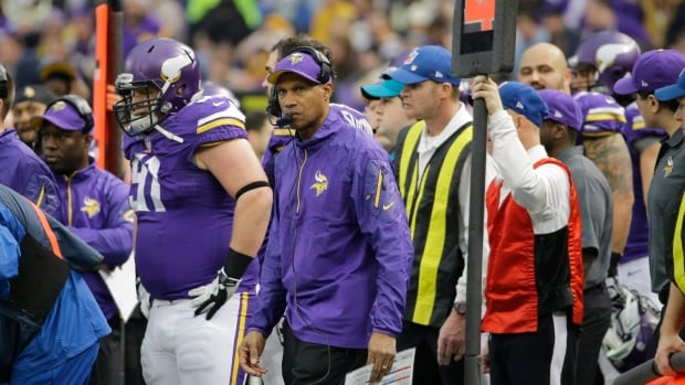 Head coach Leslie Frazier was fired Monday after leading the Vikings to a disappointing 5-10-1 season.