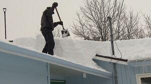 Roof shovelling