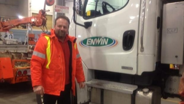Adrian Viselli is one of seven Enwin workers who were in Toronto for a week helping restore power to thousands after an ice storm.