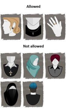 Canada Quebec Religious Symbols