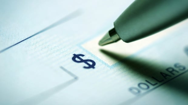 cheque writing