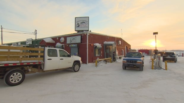Baffin Gas & Convenience in downtown Iqaluit. Gas prices are going up 20 cents a litre across Nunavut tomorrow in the first price hike since 2008.