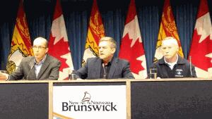 NB Power, EMO and Premier David Alward give update on power outages