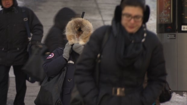 Quebec's deep freeze continues with wind chills making temperatures feel as low as -55C in some parts of the province.