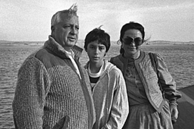 Ariel Sharon and family, 1982