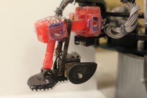 Abigaille wall-crawler robot foot