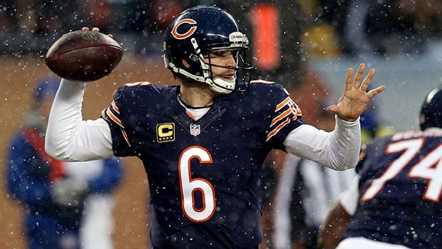Jay Cutler threw for 19 touchdowns and 12 interceptions in 11 games this season as the Bears missed the playoffs.