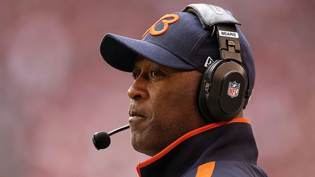 Lovie Smith was 81-63 in nine seasons with the Chicago Bears, leading the 2006 team to the Super Bowl, where the Bears lost Indianapolis.