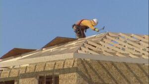 Housing construction in Regina