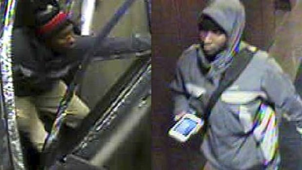 Ottawa Police released these images of one male suspect wanted in connection with several hotel-room robberies.
