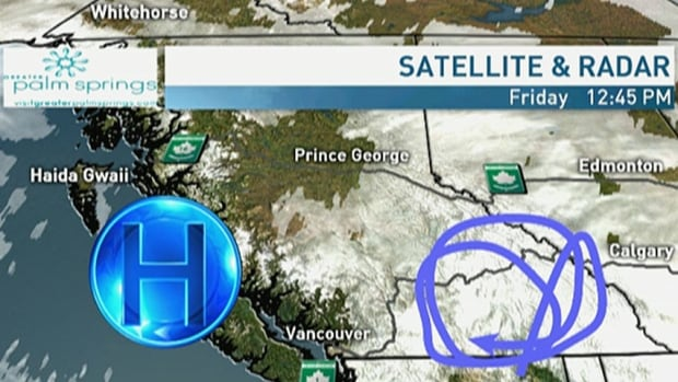 Some snow will linger through the B.C. Interior