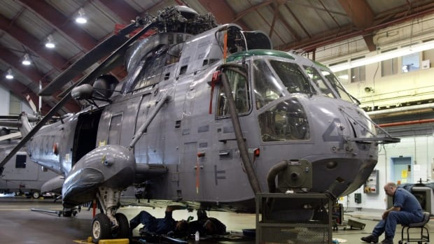 The plan to replace the 50-year-old Sea Kings - which fly from the decks of Canadian warships - is years behind schedule, billions of dollars over budget and apparently beset with technical glitches.